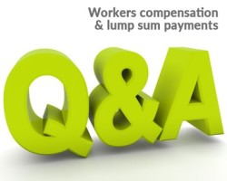 Workers Compensation lump sum